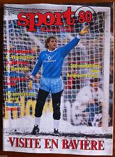 SPORT 80 du 4/03/1987; JM. Pfaff/ Sunair/ G. Dardenne/ Belgique-Ecosse/ Wittebol
