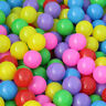 50PCS Baby Kid Pit Toy Swim Pool Fun Colorful Soft Plastic Ocean Ball Party Gift