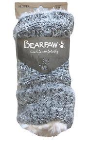 BEARPAW Women's Cozy Slipper Socks Fits Shoe Size 5-12.