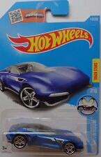2016 Hot Wheels HW SHOWROOM 7/10 Gazella GT 117/250 (Blue)(Int. Card)