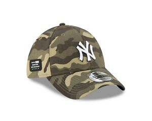 New York Yankees New Era 2021 Armed Forces Day 39THIRTY Flex Hat - Camo