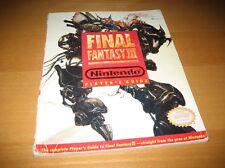 Final Fantasy III 3 Nintendo Player's Guide Strategy Super NES