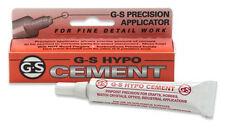 G&S WATCH CRYSTAL HYPO CEMENT .3 oz (gl411)
