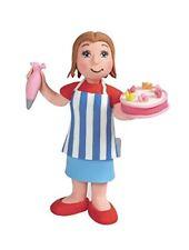 Claydoughlady Pastel Maker Cumpleaños Cake Topper/Decoración Totalmente Nuevo En Caja