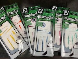 FootJoy WeatherSof Golf Glove LH Multiple Sizes and Colors to select, BNWT