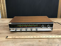 Vintage Panasonic RE-7670 Multiplex AM FM Stereo Receiver Tested Wooden Finish ~
