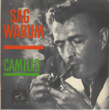 45TRS VINYL 7''/ FRENCH EP CAMILLO / SAG WARUM + SALVADOR COVER