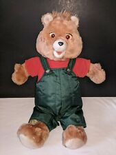 Teddy Ruxpin Talking Bear Cassette Included Worlds of Wonder Vintage 1985 Toy