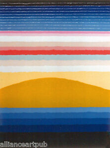 """MIRAGE"" - Rare 1979 Beautiful Serigraph S/N By Arthur Secunda"