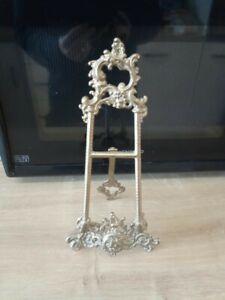 Vintage Ornate decorative Brass Letter Rack