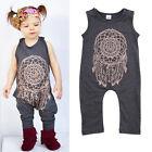 0-5 ans Bébé Fille Enfants Body Floral Coton Combinaison Grenouillère