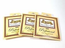 La Bella Guitar Strings 3 Sets Classical  Professional Series High Tension Silve