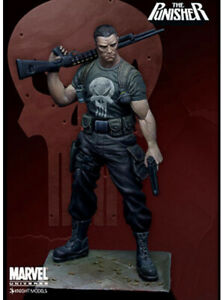 Knight Models Punisher Solid Metal Alloy Marvel Comics Model Kit from 2010