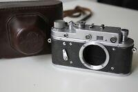 ZORKI-2C, 2S Soviet rangefinder Copy Leica Film Camera body SPARES/REPAIR