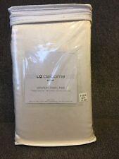 "Liz Claiborne Home Drapery Panel Pair Interlined With Tiebacks 84""x84"" Cream"