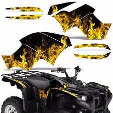 Graphic Kit Yamaha Grizzly 550/700 ATV Quad Decal Sticker Wrap 2007-2014 ICE YLW