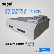 T962C Infrared IC Heater Reflow Oven Soldering Machine 2500W 400x600mm t