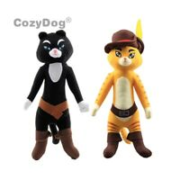 Shrek Puss in Boots Kitty Softpaws Cat Plush Doll Stuffed Toy 14'' Teddy Gift