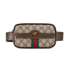 NWT Authentic Gucci Ophidia GG Supreme Canvas & Leather Belt Bag Size 105
