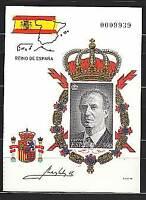 España II Centenario Pruebas Oficiales 1998 Edifil 64A/D Juan Carlos I