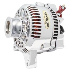 Tuff Stuff Alternator 7791AP; 3G 150 Amp Polished OE-Wire w/ 8-Groove Pulley