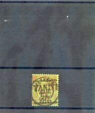 TAHITI Sc 3(YT 5)F-VF USED, 1884 10c/20c BRICK/GREEN,  EXPERT h/s, $675