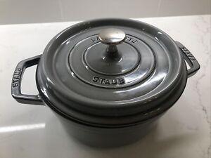 Staub Cast Iron 2.75 Quart Cocette - Graphite Grey