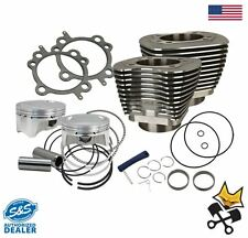 "S&S 107"" BIG BORE CYLINDER & PISTON KIT FOR 2007-UP HARLEY TWIN CAM 910-0500"