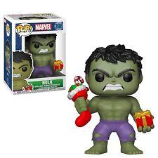 Funko - Pop Marvel: Vacaciones - Hulk con / Relleno & Peluche Nuevo en Caja