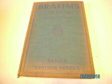 Gesang (hoch) + Klavier Noten : BRAHMS Album 2