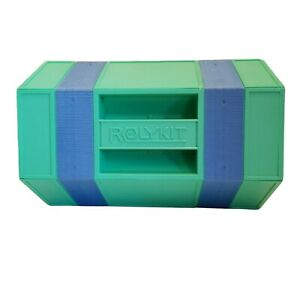 Vintage Rolykit Portable Tool Box Organizer Parts Tote Sewing Crafts Toy Fishing