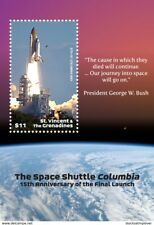 St. Vincent 2019 space  SHUTTLE COLUMBIA I201901