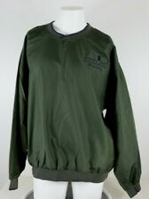 Cutter & Buck Haversham & Baker Golf Expeditions XL Green Windbreaker Pullover