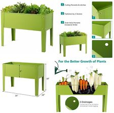 Metal  0000004A Garden Raised Bed Outdoor Elevated Vegetables Flowers Herb Plant Stand New 000002Af