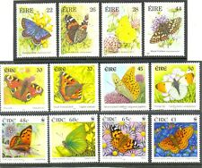 Ireland Butterflies collection 3 complete sets MNH -(1985/2000/2005.