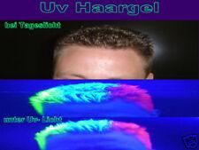 unsichtbares Haargel Schwarzlicht Deko Uv Fasching Set