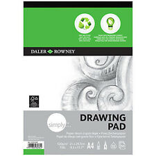 Daler Rowney Simply Eco Drawing Pad - 100% Recycled Paper - A4