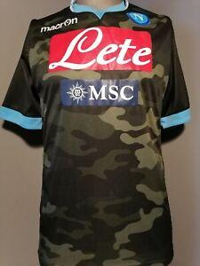 SSC ⚽Neapel⚽ Trikot S - M Saison 2013 Camouflage Napoli LETE MSC