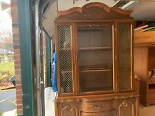 dining room set 6 chairs matching hutch