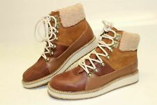 TOMS NEW Womens 6 Brown Suede Leather Cuffed Chukka Boots Booties Ankle Boots