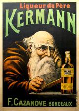 KERMANN LIQUEUR, BORDEAUX, France, date unknown, 250gsm A3 Poster