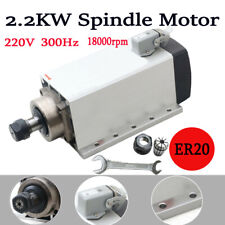 Cnc Square Spindle 22kw Motor 2200w Air Cooled Motor Machine Milling 18000rpm