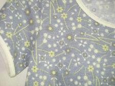 LuLaRoe Classic NWT XXS Heather Gray, Yellow flowers White trim sleeves and neck