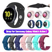 Für Samsung Galaxy Watch Active 2 42mm Armband Strap Silicon Watch Band
