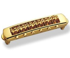 Schaller STM Roller Tunematic BRIDGE for Gibson Les Paul SG Tune-O-Matic - GOLD