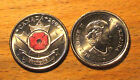 2004 Uncirculated POPPY QUARTER - SPY COIN -Canada - 25 Cents-Shipping Discounts