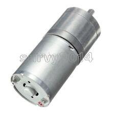 Motoriduttore DC 12V 12V 5RPM motoriduttore elettrico ad alta coppia con riduttore di velocit/à a micro velocit/à 25GA-370 Centric Shaft 25mm Diametro motore elettrico