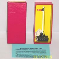 RARE RED BOXED HORNBY DUBLO 5065 SEMAPHORE SIGNAL HOME ELECTRICALLY OPERATED EXC