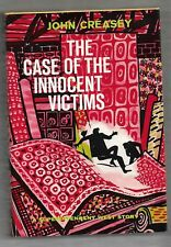 The Case of the Innocent Victims, Superintendent West, John Creasey, 1st edt