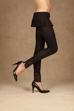 Leggings W/Lace Trim & Buttons, Elegant Moments, Footless, Retro, 80's, 8-12
